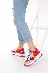 Wilda Kadın Spor Ayakkabı - Bordo-8