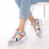 Wilda Kadın Spor Ayakkabı - Bordo-9