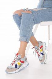 Wilda Kadın Spor Ayakkabı - Bordo-10
