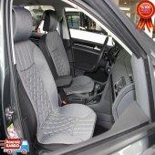 Chevrolet Uyumlu Gri Lüks Oto Koltuk Minderi Kılıfı
