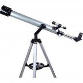 Zoomex 60F700TX Astronomik Teleskop 350 Kat Yakınlaştırma+Taşıma Çantalı
