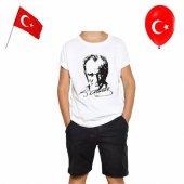 Unisex Baskılı Atatürk Tshirt 10 Kasım Atatürk...