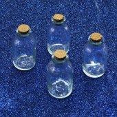 Mantar Kapaklı Cam Şişe 50 Cc (30 Adet)