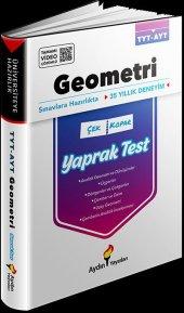Aydın Üniversiteye Hazırlık Tyt Ayt Geometri Yaprak Testler