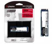 Kingston A2000 250GB 2000/1100MB/S NVMe M.2 2280 PCIe SSD (SA2000M8/250G)