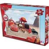 Ks Games Cars 100 Parça Çocuk Puzzle