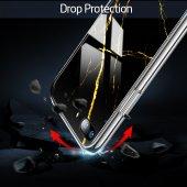 iPhone 7/8 Kılıf, ESR Marble Glass,Black Gold Sierra-4