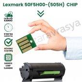 Chıp Lexmark 50f5h00 (505h) Toner Çip 5k