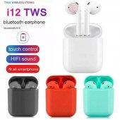 I12 Tws Bluetooth 5.0 Kulaklık Beyaz
