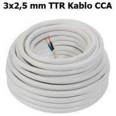 3x2,5 Cca Ttr Kablo Cok Telli Ürün 100 Metre Fiyatıdır