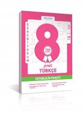 Bilfen 8. Sınıf Türkçe Depar Yeterlilik Paketi
