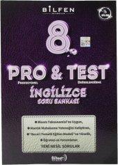 Bilfen Yayınları 8. Sınıf Pro & Test İngilizce Soru Bankası