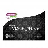 Softto Plus Arındırıcı Siyah Maske