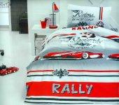 Cotton Box Red Car Kırmızı Tek Kişilik Junior Ranforce Nevresim T