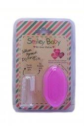 Bio Smile Bebek Parmak Diş Fırçası Pembe 0 3...