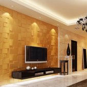 3d Duvar Panelı (Bambu) 50 X 50 Cm
