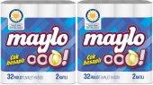 Maylo Ooo Tuvalet Kağıdı Çift Katlı 64 Lü Set...