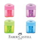 Faber Castell Grip Auto Kalemtıraş Canlı Renkler,