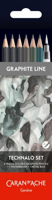 Caran Dache Technalo 6lı Set Ressam Kalemi Seti