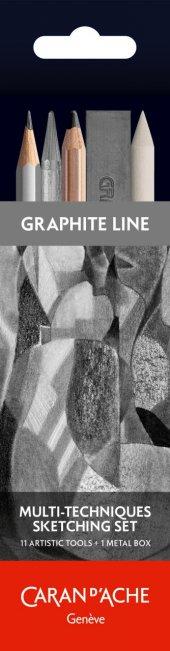 Caran Dache Multı Technıques Sketching Set Özel Çizim Seti