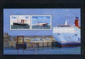 Bahadır Pul Evi, 2006, İrlanda, Dantelli 2 Pullu Özel Blok, Gemi Temalı