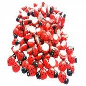 Yapışkanlı Kırmızı Uğur Böceği 25 Adet