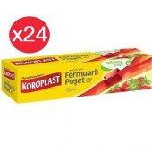 Koroplast Fermuarlı Poşet Büyük 12li X 24 Paket (26*28)