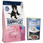 Happy Cat Junior Tahılsız Ördekli 4 12 Ay Yavru Ke...