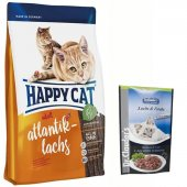 Happy Cat Adult Atlantik Lachs Somonlu Yetişkin Ke...