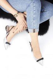 Simli Bayan Babet Ayakkabı