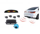 Piranha 6601 Led Gösterge Ses İkazlı Universal Arka Park Sensörü