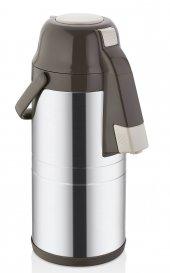 Cooker 4,5 Litre Pompalı Çelik Termos Çay Termosu Su Termosu Termos
