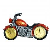 Pologift Polyester Dekoratif Kırmızı Motor Şeklinde Masa Saati-3