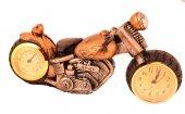 Pologift Polyester Dekoratif Sarı 3 Motor Masa Saati