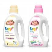 Uni Baby Sensivite Çamaşır Deterjanı&yumuşatıcı 1500ml 2li Set