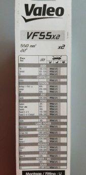 Valeo Silecek Süpürgesi 55cm (X2) Normal Tip (First) (Üniversal)