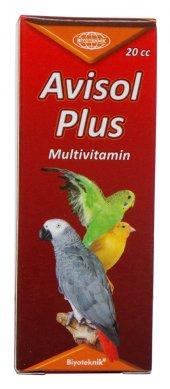 Kuşlar İçin Multivitamin Avisol Plus Çözelti