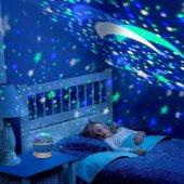 Dönen Star Master Renkli Yıldızlı Gökyüzü...