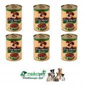 Dog Menue Biftekli Kedi Konserve 405 Gr 6 Adet