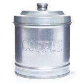 Galvaniz Kahve Saklama Kabı Parlak 11cm