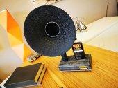 Gramobile Akustik Gramofon Siyah