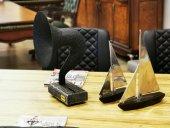 Gramobile Akustik Gramofon Siyah Gümüş
