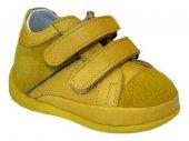 Pappikids206 Ortopedik Deri Erkek Çocuk İlk Adım Ayakkabısı Bot Sarı Renk
