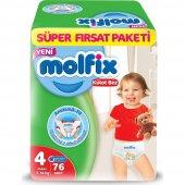 Molfix Pants Külot Bez Maxi 4 Beden Süper Fırsat Paketi 76 Adet