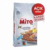 Mito Mix Tavuklu Ve Balıklı Yetişkin Kedi...