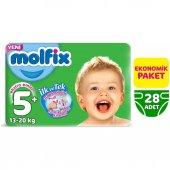 Molfix Bebek Bezi 5+ Beden Eko Paket 13 20 Kg 28 Adet