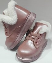 VİCCO946B19K251 Ortopedik Kışlık Kız Çocuk Bot Çİzme Pembe renk-4