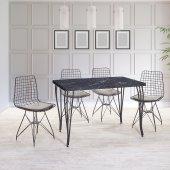 Hasır Masa Sandalye Takımı