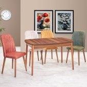 Renkli Masa Sandalye Takımı