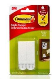 3m Command 17201 4çift Orta Boy Cırt Cırt Bant